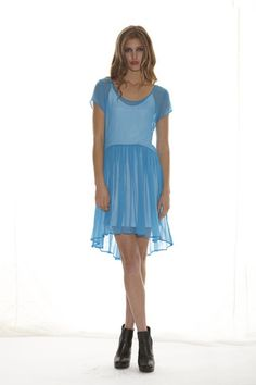 Rendition Dress - Turquoise