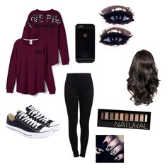 """Pink"" by ke-hardwick ❤ liked on Polyvore"