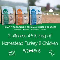 Open Farm Pet Food Giveaway {ends 5/16} | Dorky's Deals