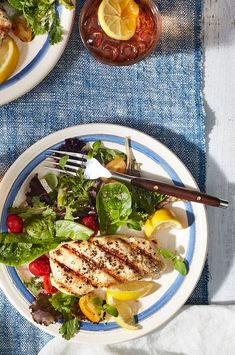 Though simple, this recipe provides you with the tools to grill most any flakey fish. We happen to particularly love halibut because it's an inherently flavorful fish that requires no more than salt, pepper, and a squeeze of fresh lemon to taste absolutely divine#salmon #seafood #salmonrecipes #salmondishes Salmon Dishes, Seafood Dishes, Seafood Recipes, Grilled Halibut, Halibut Recipes, Grilling, Salt, Lemon, Stuffed Peppers