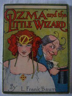 OZ JIGSAW BOOK: OZMA and the LITTLE WIZARD Baum 1932