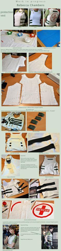 W.I.P. - Rebecca Chambers - protection vest by Itakoo