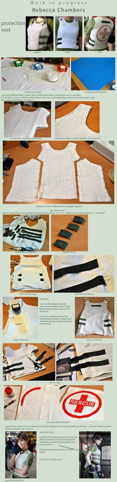 W.I.P. - Rebecca Chambers - protection vest by Itakoo