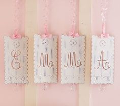 Yeah! Got these letters for baby girl's room, though I had to go on ebay for one letter that I needed.