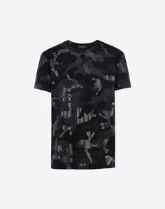 Valentino Camo T Shirt