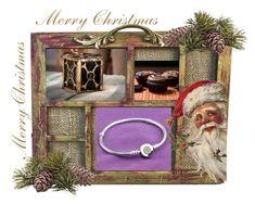 """""""Pandora karácsony"""" by dyrion ❤ liked on Polyvore"""