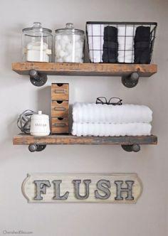 [ 15 Bright Storage Ideas To Keep Your Bathroom Organized 6