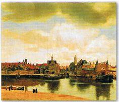 ヨハネス フェルメール デフルトの眺望