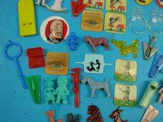 76 Vintage 1950's Cracker Jack Toy Charms Prizes Lot | eBay