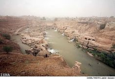 In 3500BC, the city of Susa, in what is today Iran, housed about eight thousand people.  The city was built between two rivers for protection  water access.  Susa survived thousands of years, becoming an important center of the Babylonian Empire.  It was from here, according to the Bible, that Esther married the Persian emperor  saved her people from a plotted genocide.  According to the Iliad, the city was founded by Memnon, who later died defending Troy from Greek attack in the Trojan War.