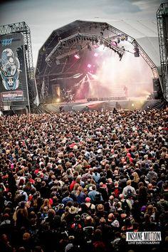 Hellfest 2011 by Insane Motion Bon Jovi, Concerts, Novels, Corner, Metal, Event Posters, Music, Love, Metals