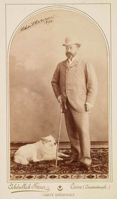 The Royal Collection: Portrait photograph of Albert Edward, Prince of Wales (1841-1910), 1890