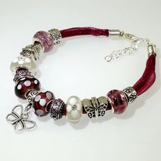 Hey, I found this really awesome Etsy listing at https://www.etsy.com/listing/250106858/european-charm-bracelet-handmade-purple