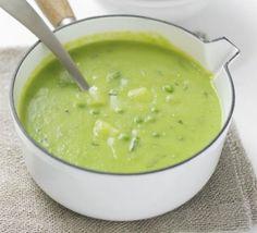 Pea & Potato Soup Minty Pea & Potato Soup Recipe on Yummly. Pea & Potato Soup Recipe on Yummly. Bbc Good Food Recipes, Veggie Recipes, Soup Recipes, Cooking Recipes, Vegan Soups, Vegan Vegetarian, Vegetarian Recipes, Healthy Recipes, Creamy Potato Salad