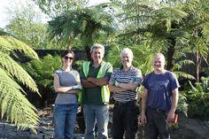 2011, June, BLOOM Garden Festival, Dublin, planting Kells Bay Garden designed by Frazer McDonogh and Billy Alexander, Dublin