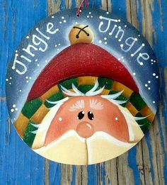 Wall art Home Decor Print print Teresa Kogut Art Christmas Rock, Christmas Signs, Christmas Snowman, Christmas Pictures, Christmas Decorations, Santa Paintings, Christmas Paintings, Painted Ornaments, Santa Ornaments