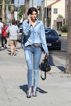 Kendall Jenner in Los Angeles on June 14, 2015.
