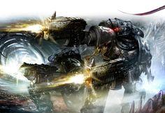 Вечная охота, вечная ненависть. Warhammer 40k, Iron Hands, арт