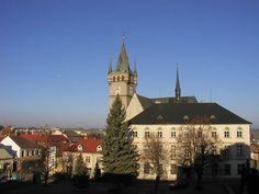 Česko, Humpolec - Gotický kostel sv.Mikuláše