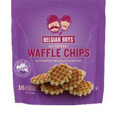 Belgian BoysTM Waffle Chips Get them delivered to your door order at: www.belgianboys.com Copyright Belgian Boys