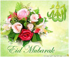 Eid Mubarak .