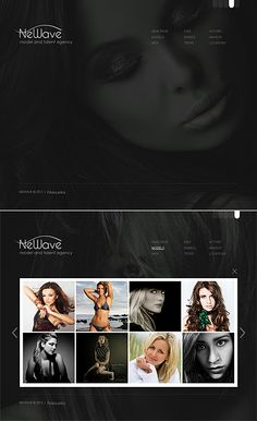 Newave Model Moto CMS HTML Templates by Delta