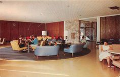 BIG RAPIDS, Michigan MI FERRIS INSTITUTE Johnson Hall 1965 Postcard Part 83