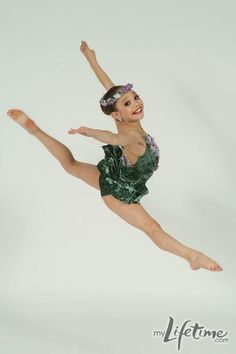 Maddie from Dance Moms.