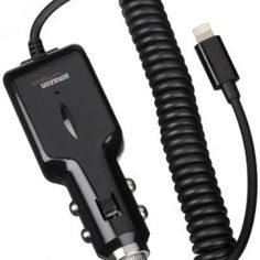 AmazonBasics Lightning Car Charger for iPhone, iPad and iPod (2.1 Amp Output) – Apple certified  www.shoptallorder.com