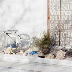 Deko im Beach-House-Look: Ein schöner Beitrag von @Whiteandvintage