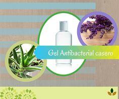 ¡Haz tu propio gel antibacterial casero!