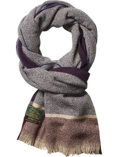 Gentlemen's Tweed Scarf | College Scarfs | Men's Clothing at Scotch & Soda