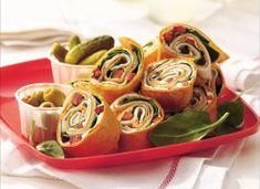Turkey-Spinach Wraps  11-06-2014