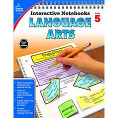 INTERACTIVE NOTEBOOKS GR 5 LANGUAGE