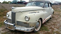 Affordable Iron: 1947 Packard Deluxe Clipper - http://barnfinds.com/affordable-iron-1947-packard-deluxe-clipper/