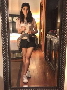 Shraddha Kapoor looking stunning in this outfit. She thanks Skechers