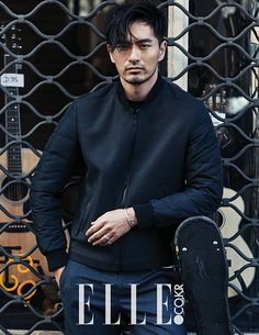 Lee Jin Wook In Paris For Elle Korea's November 2015 Edition | Couch Kimchi