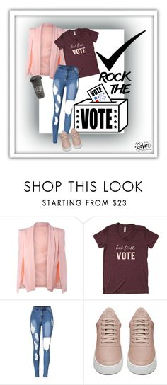 """""""Vote ✅📈📉🗳"""" by britt-catlynne-weatherall ❤ liked on Polyvore featuring Filling Pieces and The Created Co."""