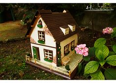 casa_dar_6 Gingerbread, Bird, Outdoor Decor, House, Home Decor, Houses, Decoration Home, Home, Room Decor