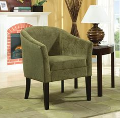 CLEARANCE 50% OFF SPECIAL ORDER Green Accent Chair CO-902042 $ 221 $110