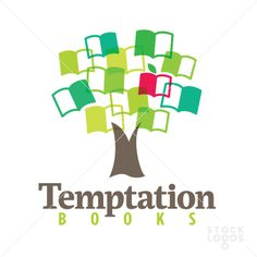 temptation books logo template