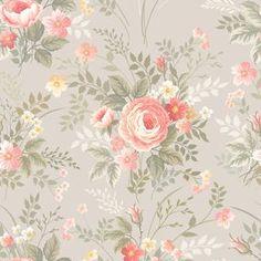Papel de Parede Floral 1642