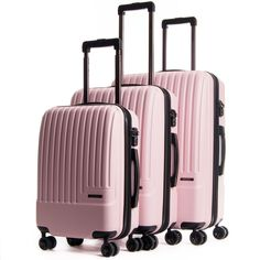Shop CALPAK for modern hard-sided lightweight expandable luggage. Choose from a great selection of stylish luggage sets available in a variety of colors. Calpak Luggage, Pink Luggage, Cute Luggage, Best Luggage, Luggage Straps, Luggage Sets, Travel Luggage, Travel Bags, Travel Suitcases