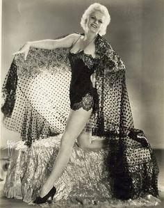 Old Hollywood Glamour - Jean Harlow