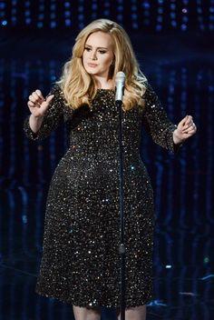 15 Times Adele Wore Dresses That Perfectly Flattered Her Curves! - 15 Times Adele Wore Dresses That … - Adele Hair, Adele Dress, Vestidos Adele, Adele Quotes, Adele Lyrics, Adele Style, Looks Plus Size, Blonde Beauty, Celebs
