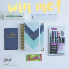 Win $200+ of STARTplanner & Tombow Prizes!