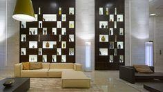 LF Italy la bottega d'incontro per realizzare le tue idee  LF Italy the place to meet and put your ideas into practice.  VQ Ventiquattro Radisson   Design by Matteo Nunziati  A #Dubai #hall #bronze #wood # leather #architecture #luxury #interiordesign http://ift.tt/1ZoMwLB