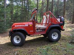 1975 Jeep CJ7 Renegade Rescue 4x4
