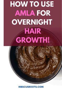 Diy Hair Mask For Dry Hair, Hair Mask For Growth, Hair Growth Oil, Hair Masks, Natural Hair Regimen, How To Grow Natural Hair, Natural Hair Growth, Natural Hair Styles, Amla Powder Hair