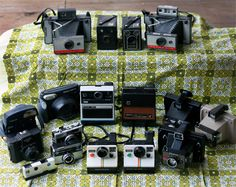 My vintage camera collection